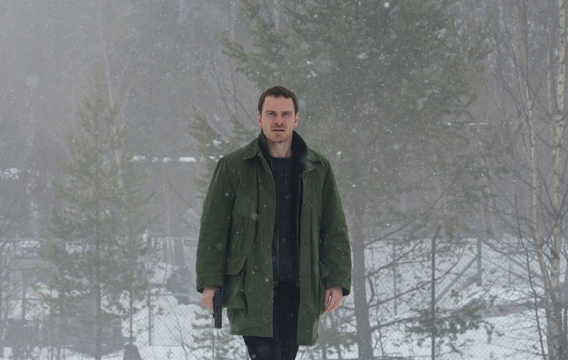 Le Bonhomme de neige : Photo Michael Fassbender