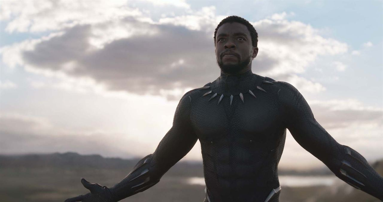 Black Panther : Photo Chadwick Boseman