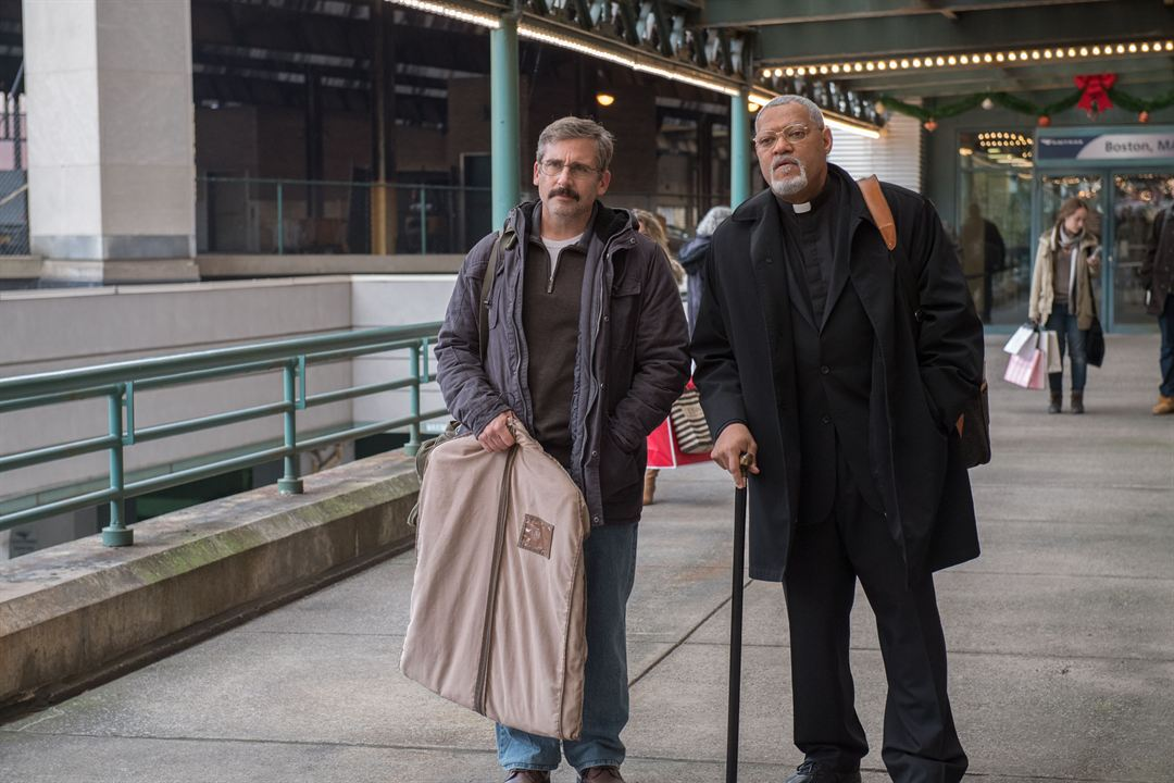 Last Flag Flying : Photo Laurence Fishburne, Steve Carell