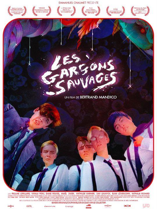 Les Garçons sauvages : Affiche