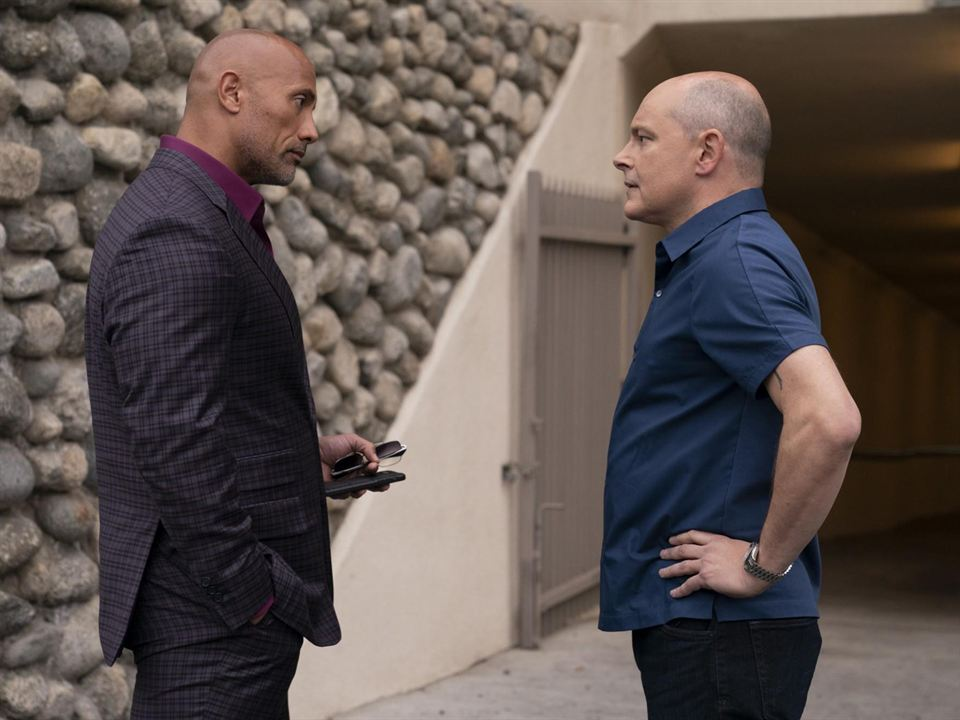 Photo Dwayne Johnson, Rob Corddry