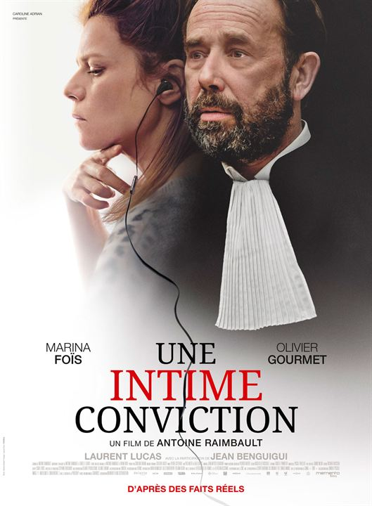 Une intime conviction : Affiche
