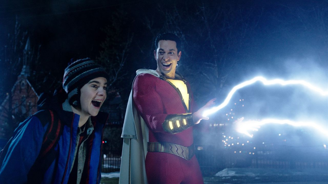 Shazam! : Photo Jack Dylan Grazer, Zachary Levi