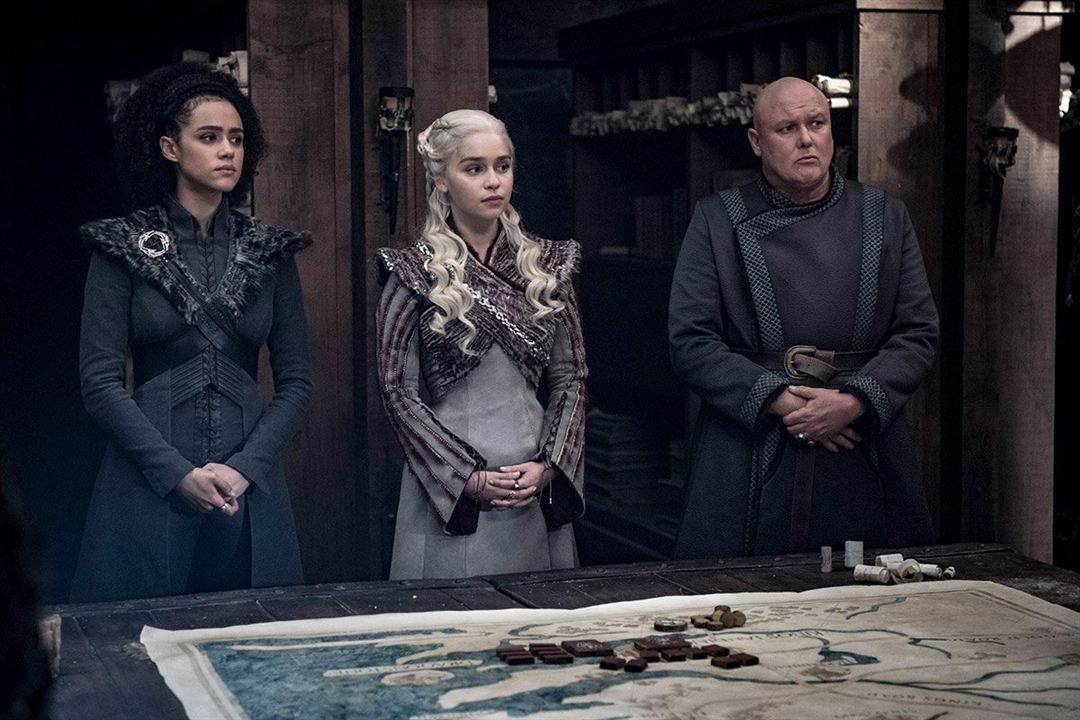 Photo Conleth Hill, Emilia Clarke, Nathalie Emmanuel