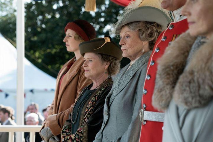 Downton Abbey : Photo Imelda Staunton, Maggie Smith