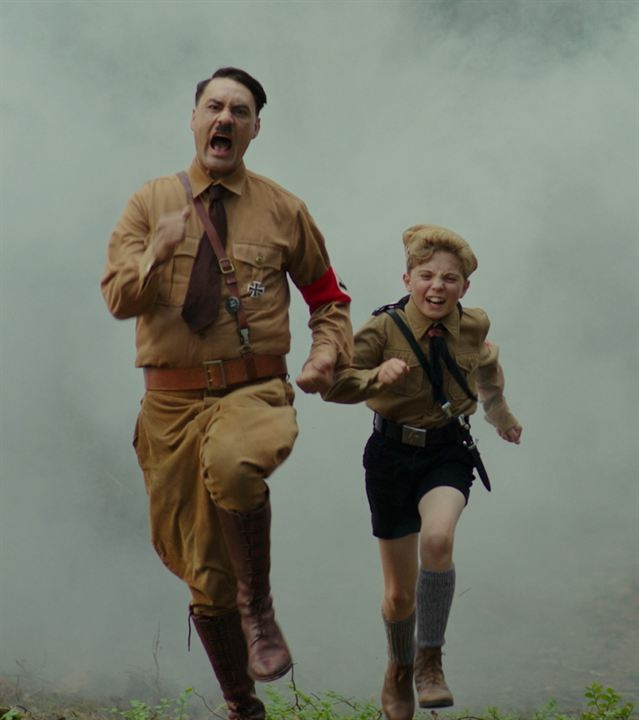 Jojo Rabbit : Photo Roman Griffin Davis, Taika Waititi