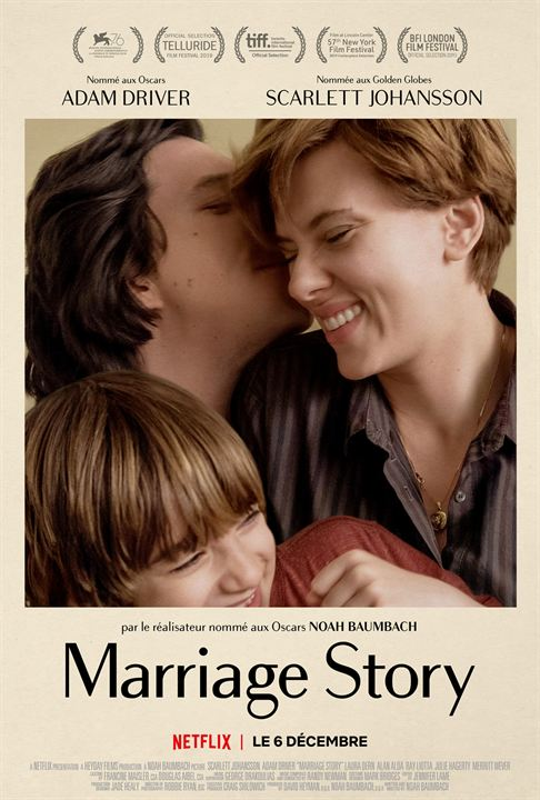 Marriage Story : Affiche