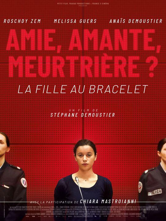 La Fille au bracelet : Affiche