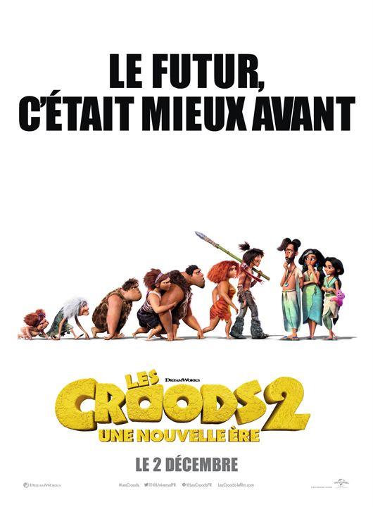Les Croods 2 : une nouvelle ère : Affiche