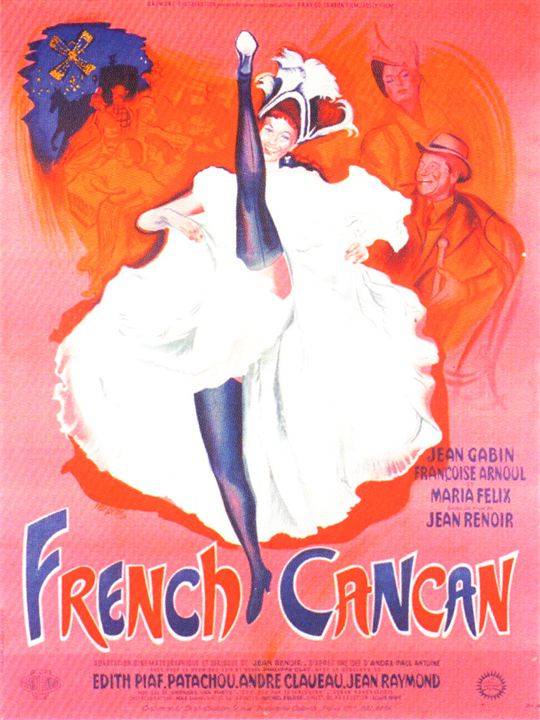 French Cancan : Affiche