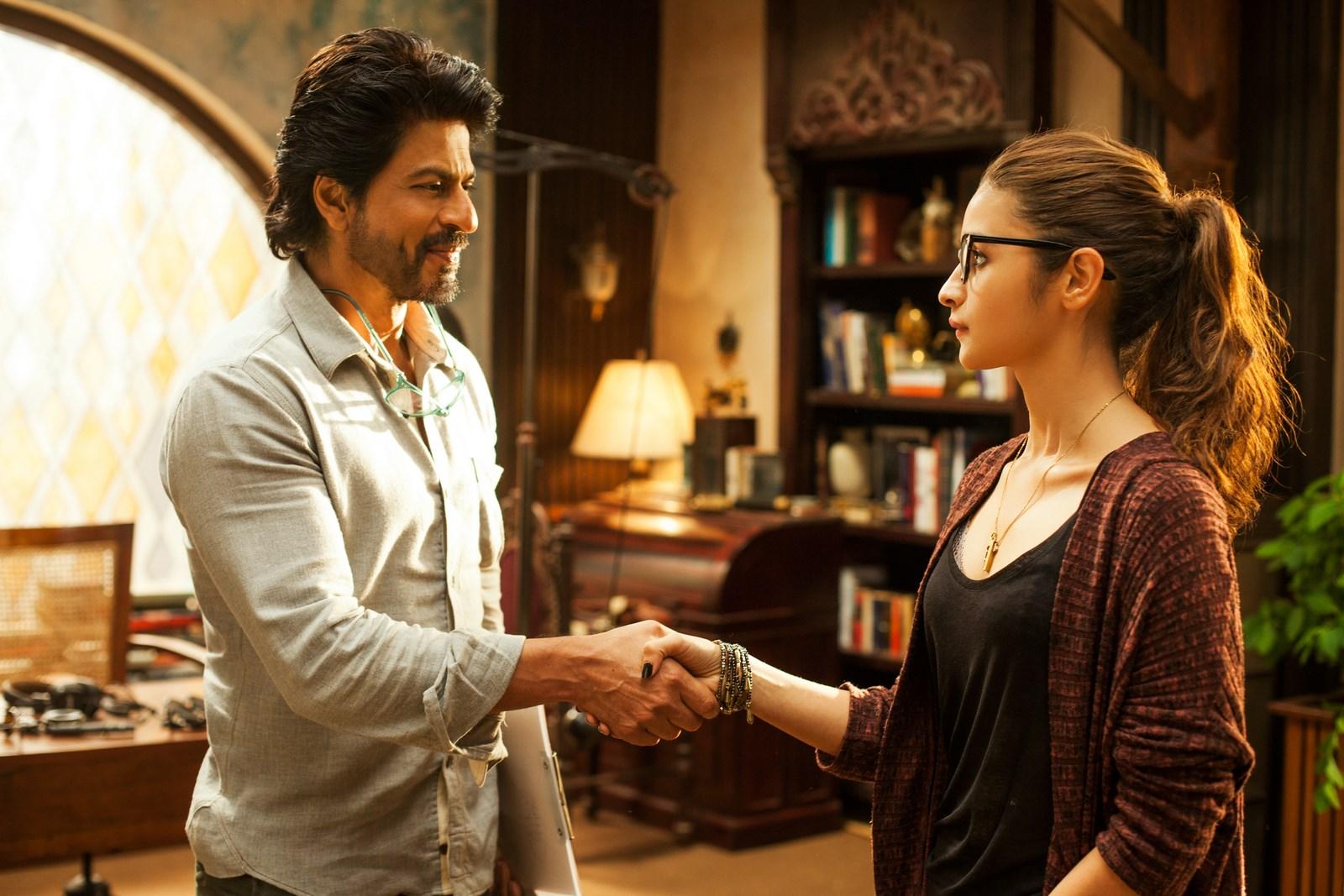 Shah Rukh Khan et Alia Bhatt