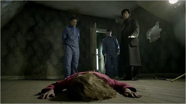 Sherlock : Photo Benedict Cumberbatch, Martin Freeman