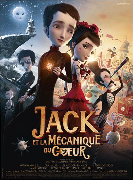 Jack et la mécanique du cœur : Affiche