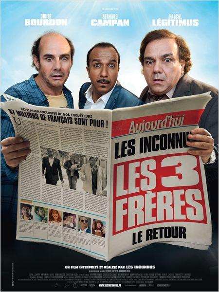 Les Trois frères, le retour : Affiche