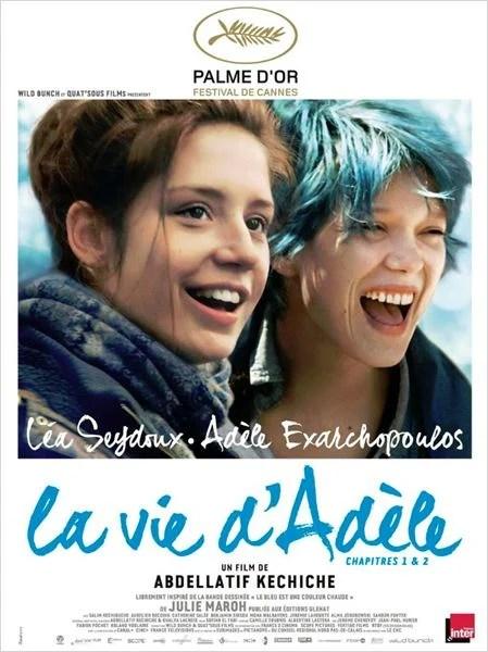 La Vie d'Adèle - Chapitres 1 et 2 : Affiche