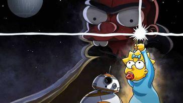 Star Wars Day : Disney+ dévoile un court métrage parodique des Simpson – News Séries à la TV