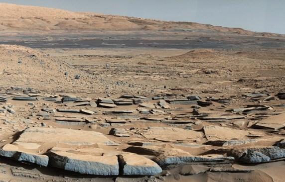 site de Kimberley sur Mars