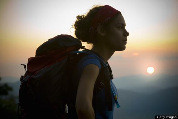 Hispanic teen backpacking in GA | Getty images