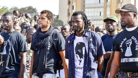 Membres du Balai Citoyen | afrik.com