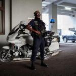 Un policier congolais