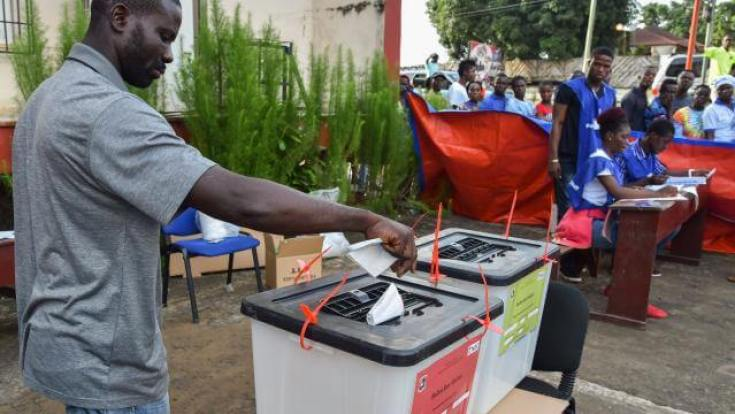 Election présidentielle au Liberia