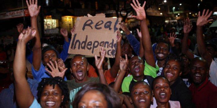 Les Zimbabwéens vivant en Afrique du Sud