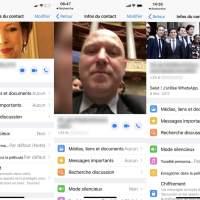 Comment un hack WhatsApp permet de trouver les contacts de personnalités publiques