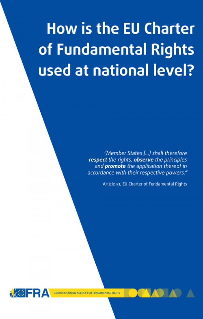 How is the EU Charter of Fundamental Rights used at national level  European Union Agency for