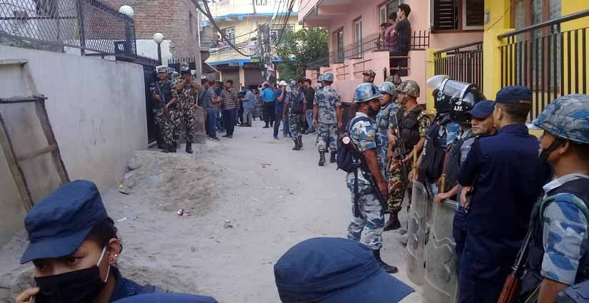 Security of Nepal