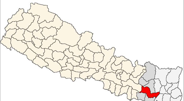 Udayapur_district_location