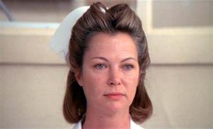 Nurse Ratched as portrayed by Louise Fletcher in One Flew Over the Cuckoo's Nest.