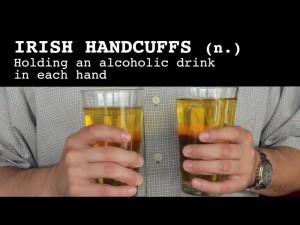 irish handcuffs