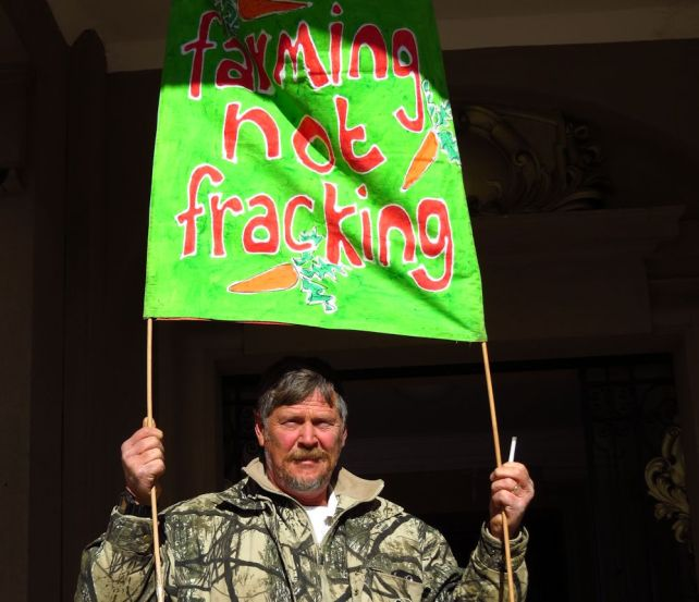 Farming not fracking harrismith
