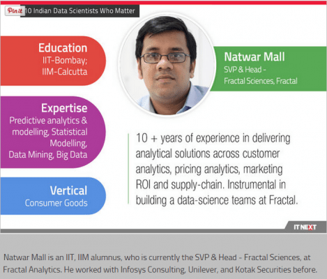 10 Indian Data Scientists Who Matter