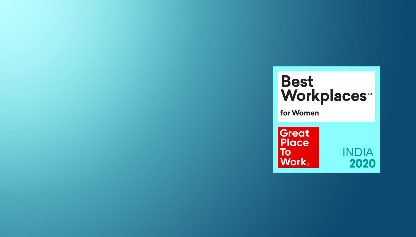 Fractal rated in the Top 100 Best Workplaces for Women in 2020 by Great Place to Work Institute