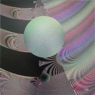 "The Ball Went Over the Fence 4, Lianne Todd. Original fractal digital art, single edition print on metal. 12x12"". SOLD"