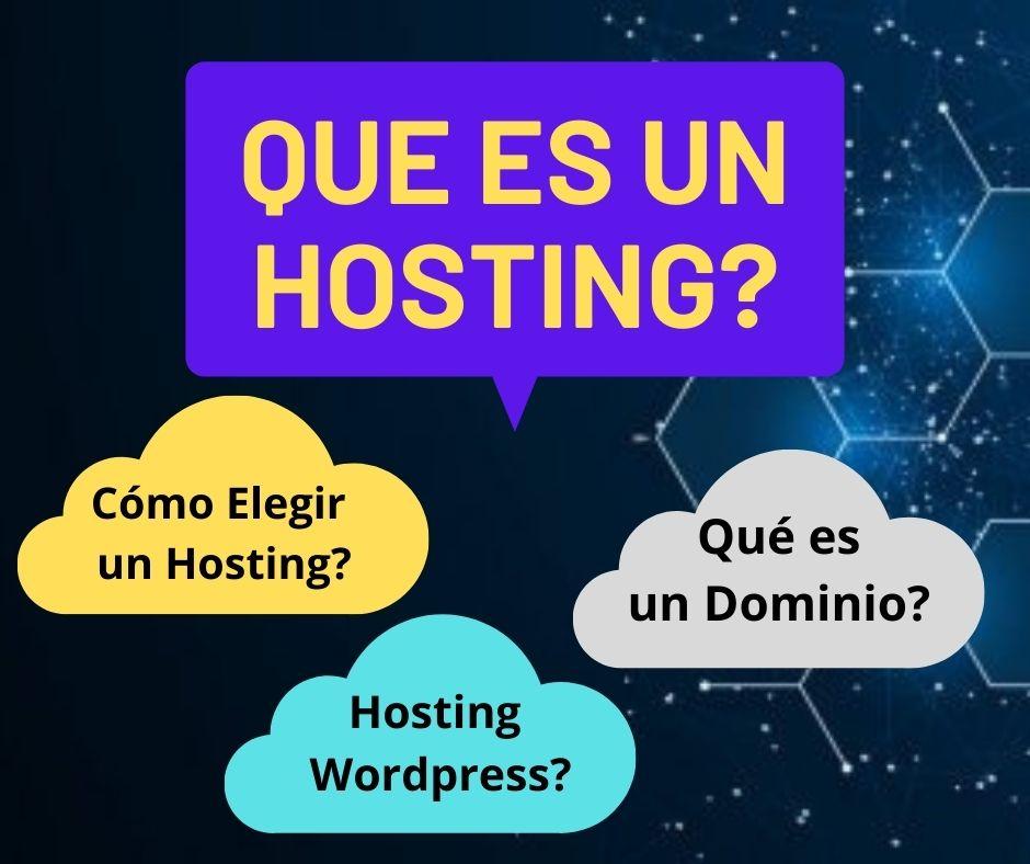Que es un hosting?
