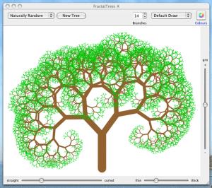 Fractal Trees X