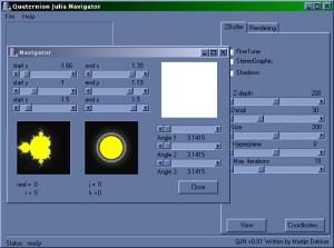 Quaternion Julia Navigator
