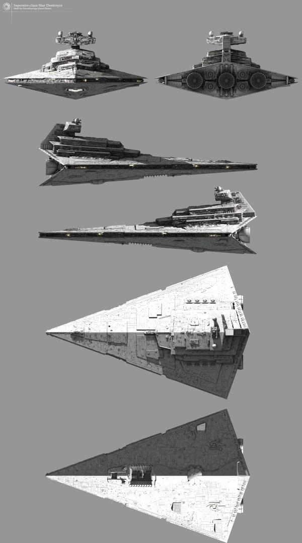 Imperatorclass Star Destroyer Fractalspongenet