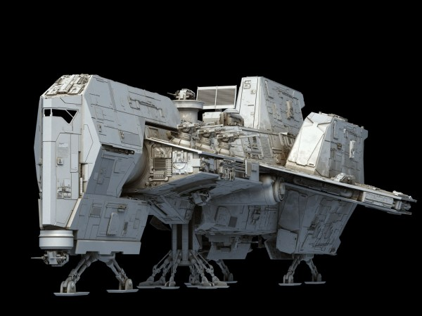 Star Wars Corvette Ship