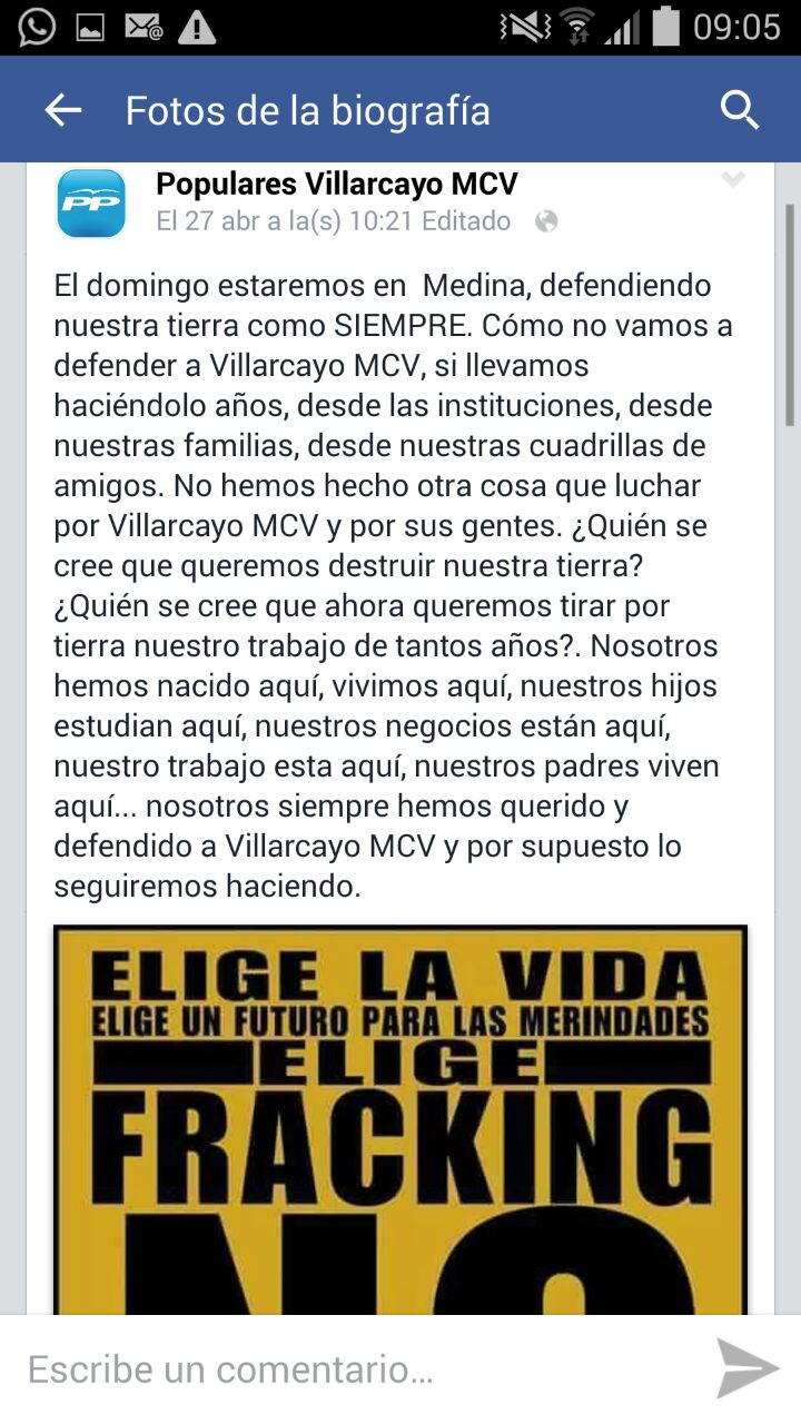 Villarcayo MAnifestacion