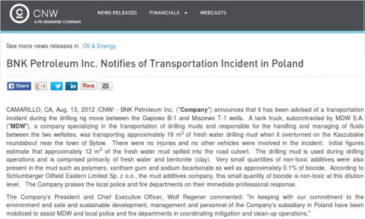 accidente BNK Polonia