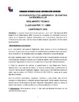 REGLAMENTO CLASE 80 MASTER C 2019