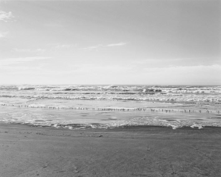 Clatsop Beach, Oregon, 1990, gelatin-silver print