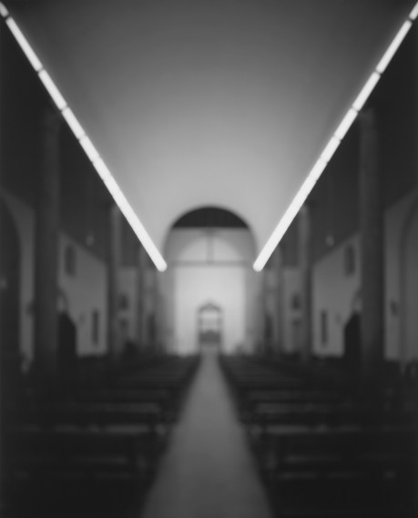 Chiesa Rossa , 1998, gelatin-silver print