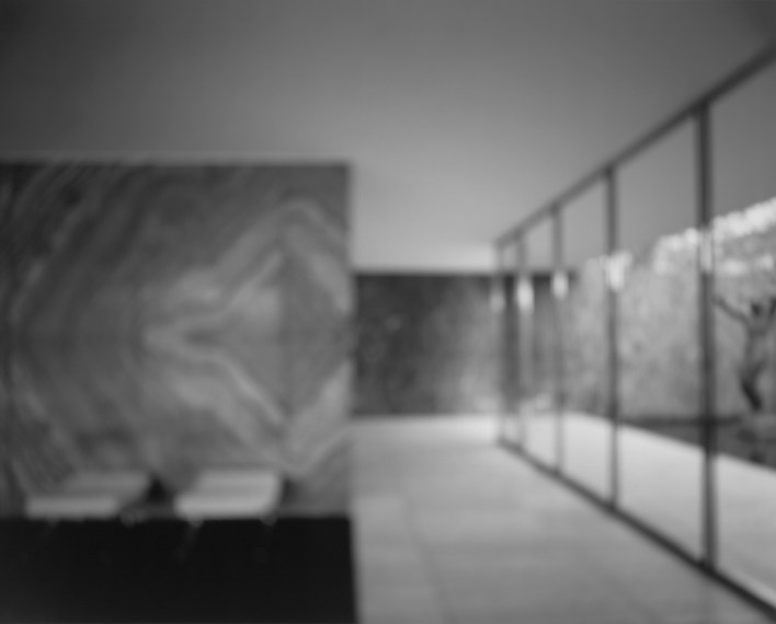 German Pavillion , 1998, gelatin-silver print