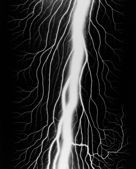 Lightning Fields 232, 2009, gelatin-silver print