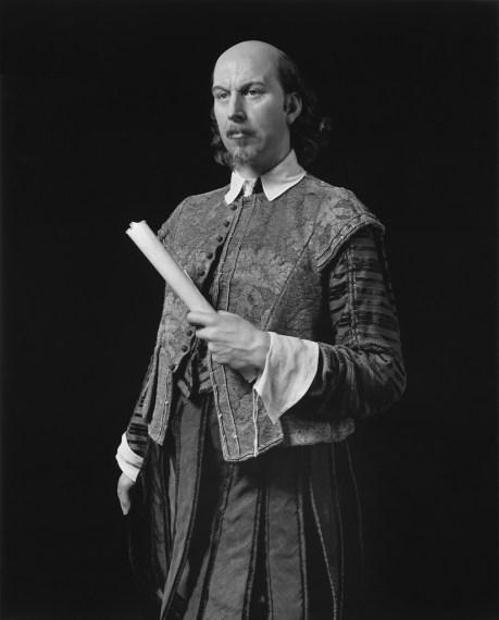 William Shakespeare, 1999, gelatin-silver print