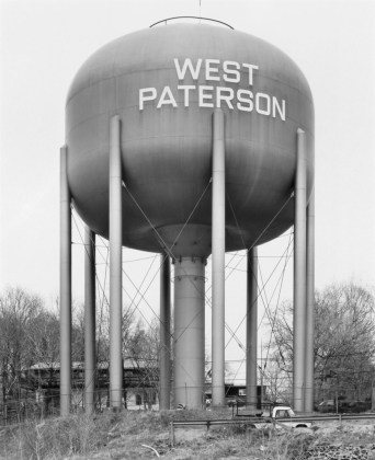 Water Tower, West Paterson, New Jersey, U.S.A., 1980, gelatin-silver print